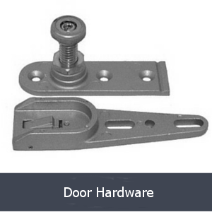 door hardware grey