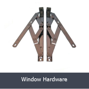 window hardware grey